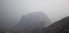 a different top (Tin-Tin Azure) Tags: world india heritage temple unesco archaeological mata gujarat pavagadh kalika champaner
