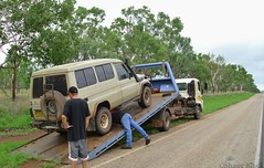 The Joys Of Travelling - Part 2 (shaneblackfnq) Tags: travelling broken car truck mechanical nt katherine australia down toyota tropical outback northern landcruiser problems tow tropics joys territory troopy troopcarrier shaneblack