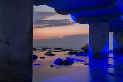 Umhlanga Cananas (Lee-Ann Conway) Tags: sunrise pier slowshutterspeed timeshare cabanas whalebone umhlanga