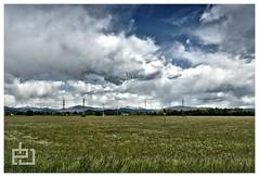 Panorama (erikbiasutto'sphotography) Tags: blue sky italy panorama cloud green nature clouds landscape nikon italia nuvole nuvola blu hill hills campagna cielo erik d200 1855 nikkor fvg vr colline collina friuli biasutto