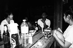 family house korat (Matt Hillier) Tags: life park camera old family portrait blackandwhite bw man black art history film girl monochrome analog 35mm canon landscape asian fun thailand gold living asia punk artist outdoor live country lofi culture lifestyle environmental naturallight oldschool east event independent age portraiture environment analogue noise iconic ilford klang dong korat lowfi nakon documentry matthillierphotographyblogspotcouk matthilliercouk