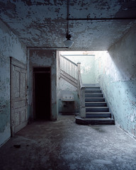 State Hospital (Future Impaired) Tags: longexposure ohio mediumformat basement kirkbride