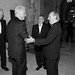 Secretary General Carlos Westendorp welcomes President Bill Clinton