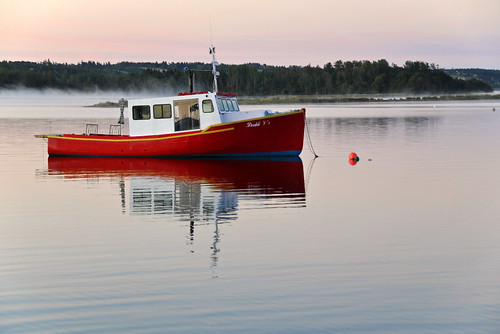 DGJ_4881 - Fishing Boat on Bras D'Or Lake