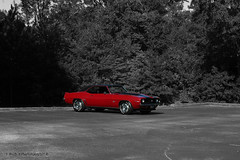 Beauty ( B.H.B. PHOTOGRAPHY ) Tags: blackandwhite bw georgia flickr ss camaro carshow focalblackandwhite 396 2011 colorseperation austellgeorgia sscamaro