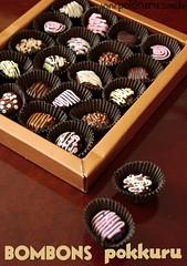 bombom - vintage poster ;) (pokkuru.) Tags: food sweet chocolate fake doce trufa bombom miniatura praline