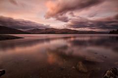 A fine evening (Jo Bowman) Tags: longexposure sunset sky clouds canon river scotland rocks exposure lochlinnhe yabbadabbadoo 60d