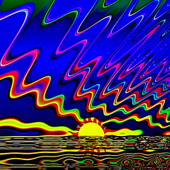 Wavy Multicolored Ocean Sunset R #1 (aeleazer1(Busy,Off/On)!!!) Tags: camera blue light sky orange white black color green art colors yellow mobile upload puddle blog dc washington interestingness interesting day random air picture explore 99 dcist daytime splash vote tagging catchy soe api washdc facebook hypothetical iphone 99percent ipad givemefive metroarea vividimagination twitter colorpicture artdigital kartpostal shockofthenew infinitescroll iphone4 cmwd iphonecamera iphonepicture flickriver iphonography iphoneart awardtree struckbyrainbow trolledproud abokehoflight ipadography aeleazer1 ipadology aeleazer andreeleazer netartii