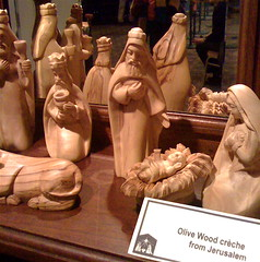 Olive Wood Nativity, Jerusalem