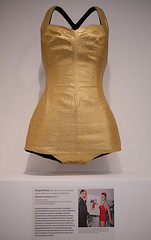 Swimsuit (Sonia.Harris) Tags: cotton lame swimsuit lacma losangelescountymuseumofart estherwilliams margitfellegi californiadesign19301965livinginamodernway