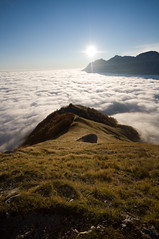 Somewhere over the Clouds (picsorstuff) Tags: mountains clouds nuvole hills fields colline abruzzo gransasso prati pratiditivo