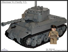 Lego ww2 -Sherman Vc Firefly V2- (=DoNe=) Tags: world light by viktor dvd model tank lego britain wwii great review collection made part kits medium custom done product update sherman reviews m4a1 phima phima333 legoww2shermanvcfireflyv2