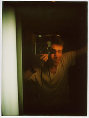 Nick Today (Nick Today) Tags: portrait me analog self mirror lomo lomography diana instax