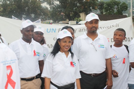 UNAIDS COUNTRY COORD Madam Mulu