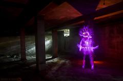 LP Nitro Gallifante (Athalfred DKL) Tags: light lightpainting luz night painting children la sticks spain long exposure glow nocturnal asturias lp laser nocturna cod nitrogen con pintar darklight larga exposicin lightman felguera linterna linferno lser lightgraff nitrastur 200mw