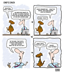 C&C Cartoon: Achieving a Work-Sport Balance; T...