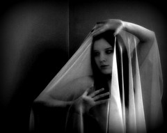 Jackie,veiled, 2007 (Mike Wood Photography) Tags: