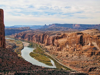 The Colorado (and...) from the Moab Rim Trail