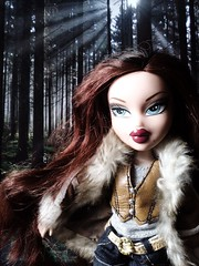 Roxxi in the Forest (Bratz Guy) Tags: girls fashion dolls princess boyz mga bratz babyz roxxi bratzparty