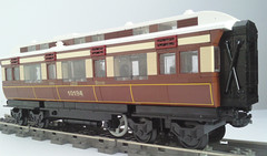 GWR Dynamometer car (bricktrix) Tags: car train carriage lego railway gwr dynamometer