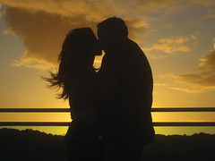 How Could It Be Any Better Than This? (haddartist) Tags: sunset love me brasil natal clouds matt togetherness kiss kissing couple warm silhouettes warmth romance together romantic embrace mygirl mylove tabatinga embracing andrezza paraisodastartarugas