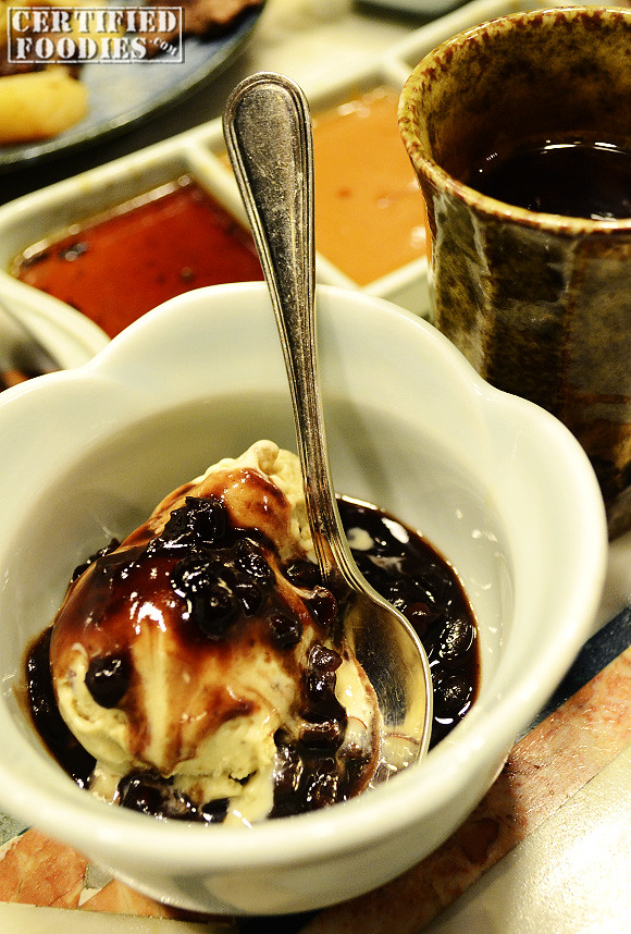 Ice Cream with Black Beans