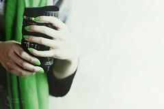 !! (SnAfeeR) Tags: morning girls light bw food sun white black cute green love glass colors girl lady angel canon lens hope 50mm model hands colours peace hand dream picture pic calm mug lovely coffe advertizing accessorize         colooors  samaher