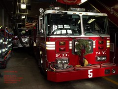 FDNY - Engine 5 & Foam 5 - 12-13-11 (FDNY8231) Tags: new york 2001 city nyc rescue usa ny tower truck fire 1 4 rear 911 engine nypd 11 aerial september mascot mount company mat ferrara ladder emergency firefighter 54 fdny department siren dalmatian tiller dept seagrave response haz kfd esu responding code3 sfb mcfd ctfd hd77