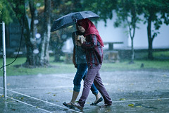 synchronizing, walking, and raining (puguhindra) Tags: life girls woman cinema college girl rain campus walking indonesia asian photography interestingness interesting nikon women asia university flickr dof bokeh f14 candid muslim hijab 85mm explore teen teenager jogja yogyakarta yogya jogjakarta nikkor cinematic raining 85 indonesian synchro rainyseason universitas candidphotography rainig bokehlicious universitasgadjahmada synchronizing af85mmf14d flickraward nikonflickraward occuphub