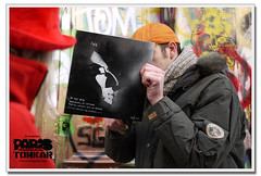 <<< NEMI UHU (Olivier B. (o.b@T)) Tags: streetart paris collage urbanart hommage sergegainsbourg ruedeverneuil nemiuhu