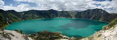 Laguna Quilotoa (Jessie Reeder) Tags: panorama lake southamerica landscape ecuador paisaje panoramic crater andes laguna quilotoa sudamrica amricadelsur