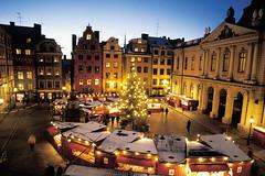 Julmarknad (SuperMikael) Tags: shopping se vinter gamlastan jul torg sn stortorget marknad julmarknad kvll