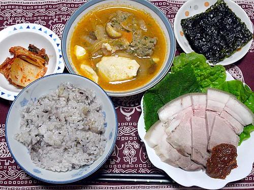 2011年12月28日の晩ご飯