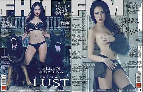 FHM Philippines - Ellen Adarna