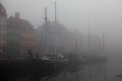 foggy morning (dive-angel (Karin)) Tags: copenhagen denmark boats nyhavn dnemark nyhaven 2470mm eos5dmarkii