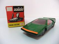 CARABO BERTONE - SOLIDO (RMJ68) Tags: cars toy alfa romeo 1968 concept coches juguete 143 solido diecast bertone carabo scale143