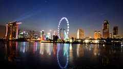 Singapore 2012 countdown - light show (Wang Guowen (gw.wang)) Tags: lighting longexposure reflection nikon singapore cityscape nightshot firework countdown 2012 greatphotographers singaporeflyer marinabaysands flickraward d7000 tokinaaf1116mmf28 tokinaatx116f28 artsciencemuseum blinkagain bestofblinkwinners gwwang wwwon9cloudcom singaporecountdown2012party