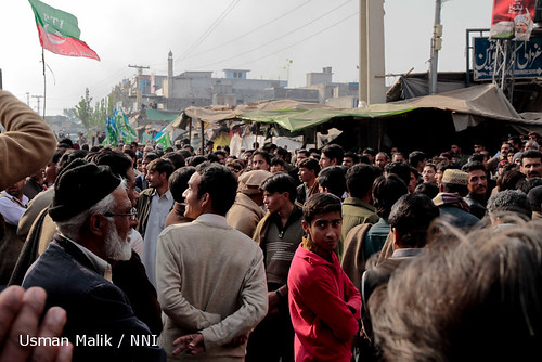 Anatomy of a Pakistani protest: 12/20 Attention