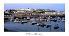 Harbour at dusk (Paul Raymond Photography) Tags: uk sunset sea england wet coast boat fishing walks cornwall waves photographer harbour walk tide rocky wave stormy tourists atlantic shore local storms lifeboathouse porthleven theshipinn paulabarrow paulraymondphotography 07708175046 paulraymondphotographyyahoocouk