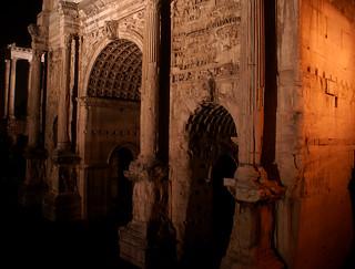 Arco di Settimio Severo detaglio/ Roma