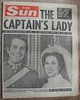 THE SUN (old school paul) Tags: vintage newspaper frontpage 1973 thesun royalwedding princessanne