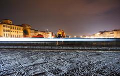 love in Florence (marin.tomic) Tags: street travel italien bridge light italy night florence italian nikon europe italia nightshot lovers explore tuscany firenze toscana toskana lighttrail d40 forenz