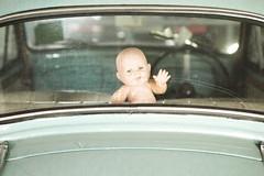 Haunting (HotDuckZ) Tags: baby photoshop adobephotoshop adobe haunting fail babyincar