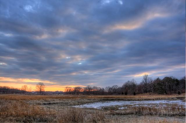 Blacks Creek Marsh sky, Quincy MA