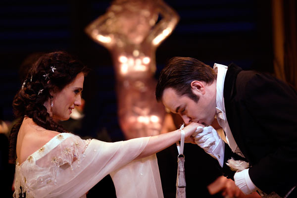 "Ermonela Jaho as Violetta and Stephen Costello as Alfredo in La traviata. The Royal Opera season 2011/12 <a href=""www.roh.org.uk"" rel=""nofollow"">www.roh.org.uk</a> Photo: Catherine Ashmore."