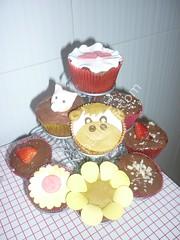 Cupcakes diferentes decoraciones en pastillaje Curso de Cupcakes 019 (PaulitasArteyAzucar) Tags: cupcakes paulitas ponques