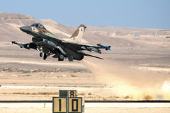 IAF F-16C Barak israel air force (xnir) Tags: canon airplane eos israel fly flying force general aircraft aviation military air flight photojournalism f16 falcon barak fighting airforce viper  dynamics idf nir scrambling scrambler lockheedmartin  iaf israelairforce benyosef  f16c    xnir   idfaf  nirbenyosefxnir photoxnirgmailcom