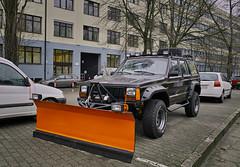 Flatten Image (Marcin M.) Tags: jeep sigma poland polska polen warsaw cherokee plow warszawa snowplow foveon xj warschau dp1 pug jeepplow jeepcherokeexj sigmadp1x dp1x