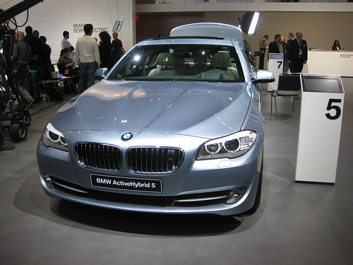 BMW ActiveHybrid 5 at NAIAS 2012