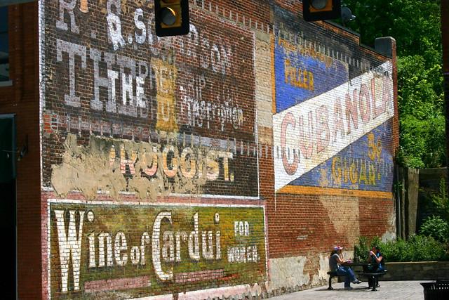Combination of wall ads - Radford, VA
